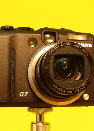 Фотоаппарат Canon PowerShot G7. Флагманский цифровик. Япония.