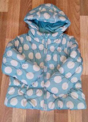 Фирменная курточка теплая для девочки next 3-4 года/104 см