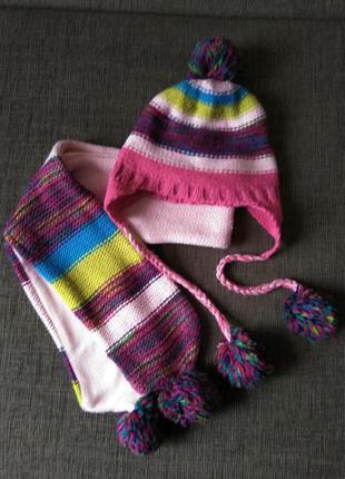Набор шапка + шарф accesorize 56 см