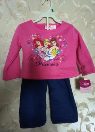 Новый прогулочный костюмчик disney princess, 18 мес