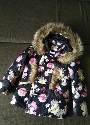Шикарная зимняя куртка, gloria jeans, 8-10 лет