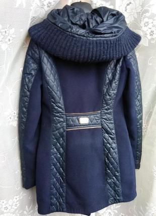 Стильное теплое пальто осень-зима, р.xs-s