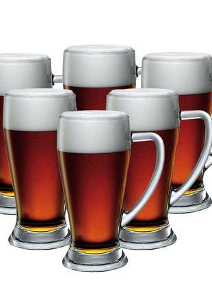 #розвантажуюсь набор бокалов для пива 379 мл, 6 шт., bormioli ...