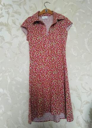 Трикотажное мини платье motivi, оригинал, италия, р. xs-s