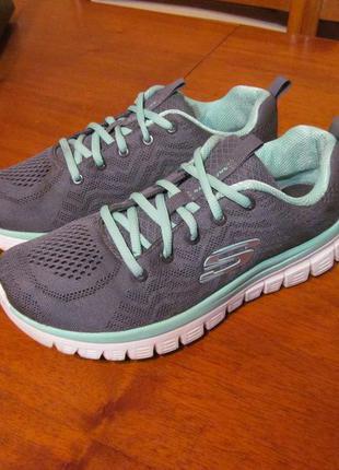 Кроссовки skechers fitness grey