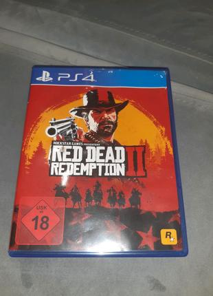Продам диск игры Red Read Redemption 2 для ps 4