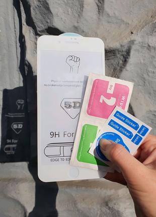 Защитное стекло на айфон Iphone 7+/8+