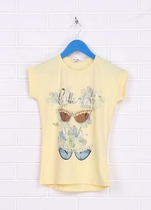 Новая футболка для девочки.