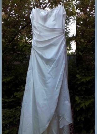 Свадебное платье размер 42 - 44 (ОГ 84 - 88 см)