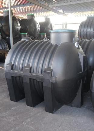 Септик 3000л -сооружение для очистки бытовых сточных вод