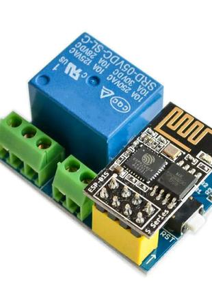 Набор WiFi модуль ESP8266 5V + ESP01S (релейный модуль дистанцион
