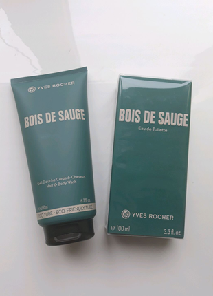 """Подарунковий набір """" Bois de Sauge"""" Ів Роше"""