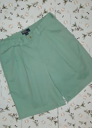 🎁1+1=3 крутые фирменные шорты чиносы ralph lauren оригинал, ра...