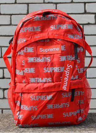 Рюкзак supreme ucut red портфель сумка суприм красный женский ...