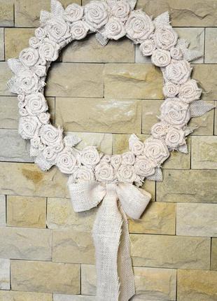 Венок на стену венок ручной работы для декора дома для декора ...