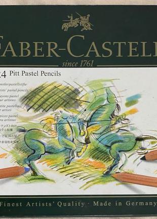 Набор цветных карандашей Faber-Castell Pitt Pastel 24 шт