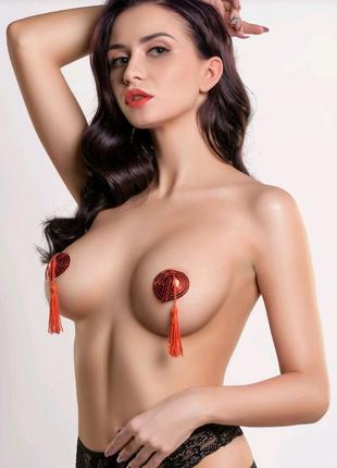 Эротическое белье, накладки наклейки на грудь, пестис