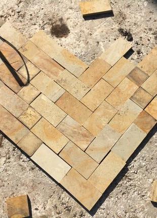 Плитка из песчаника Ямполь