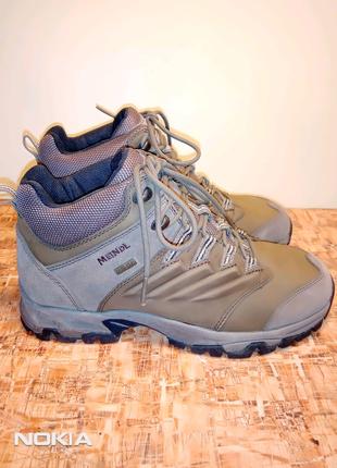 Продам новые ботинки фирмы Meindl,р.41(265мм)для разной длины ног