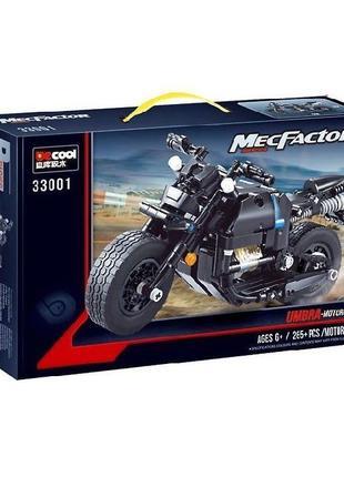 """Конструктор Decool 33001 """"Теневой мотоцикл"""" 265 деталей"""