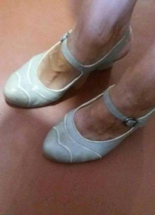 Летние туфли босоножки