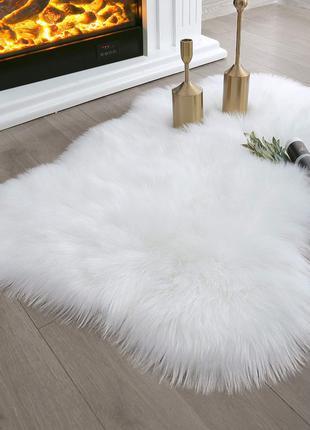 Меховой коврик.  Экомех. Коврик овчина искусственная