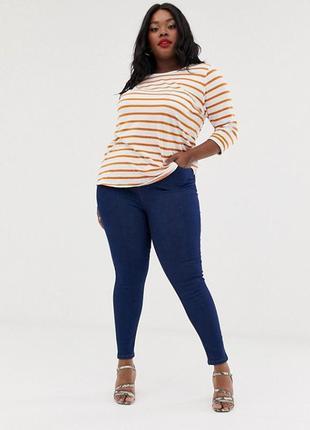 Крутые джинсы скинни размер 20 (52-56)