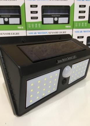 Лампа с датчиком света для входной двери YH-818/ 48 LED
