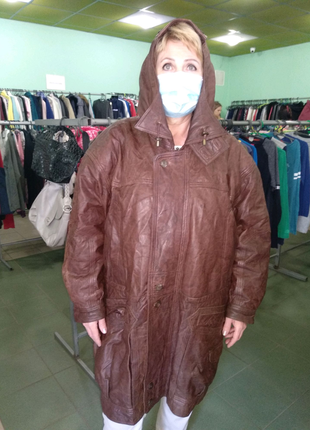 Роскошная куртка из нежнейшей кожи лайка  ultsch