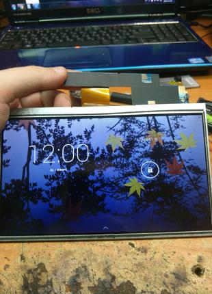"""Дисплей для планшета 7"""" 50pin бу с разборки семь дюймов"""