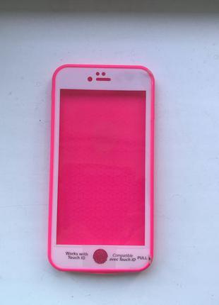 Водонепроницаемый Чехол Для IPhone 6 Plus /Айфон 6 Плюс розовый