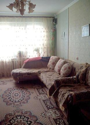 Трехкомнатная квартира с косметическим ремонтом
