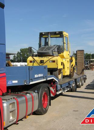 Международная перевозка негабаритных грузов