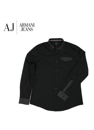 Рубашка armani jeans - l