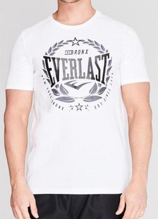 Мужская футболка белая everlast в наличии англия оригинал