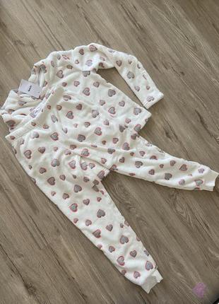 Тёплая мягкая пижама