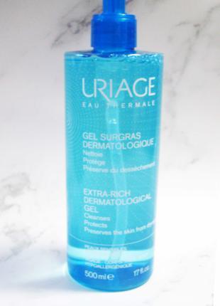 Uriage Extra-Rich Дерматологический гель 500мл