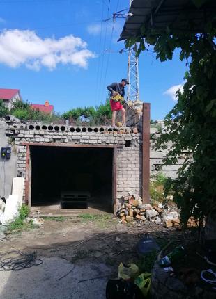 Демонтаж старых домов
