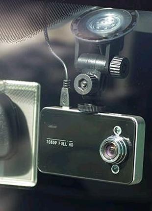 Автомобильный видеорегистратор DVR K6000 Full HD Vehicle Blackbox