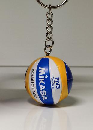 Брелок мяч волейбольный mikasa vls300 новинка