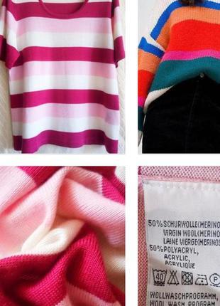 Базовый свитер в благородные цвета из шерсти меринос !