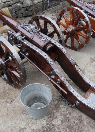 Деревяная пушка