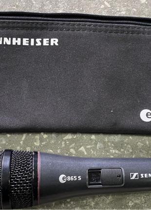 Продам микрофон Sennheiser E 865-S