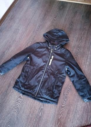 Осенняя куртка на мальчика 10 лет