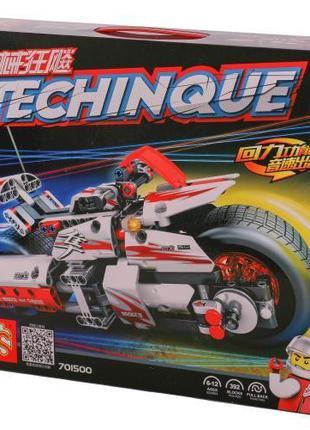 """Конструктор Sembo 701500 """"Мотоцикл"""" 392 детали"""