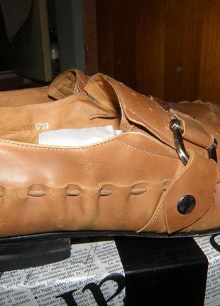 Кожаные летние туфли l'carvari