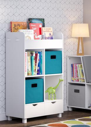 Купить Детский шкаф с вешалкой и книжными полками