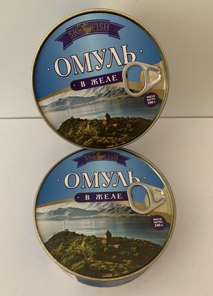Продам консерву Омуль в желе.