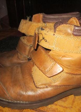 Ботинки кожа тимберленд timberland  р 37