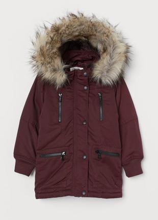Парка, куртка для девочки h&m
